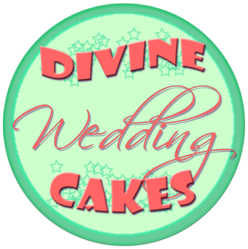 divine wedding cakes logo